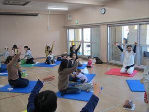 杉並区大宮児童館での均整体操講座